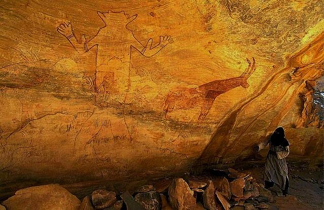 наскальная живопись плато Тассилин-Аджер